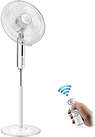 XIAOLIN Ventilador de viento en forma de pie blanco Ventilador de ...