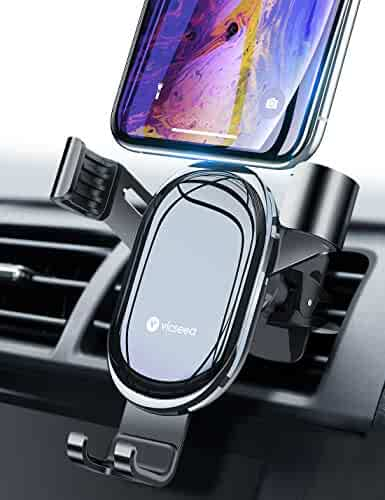 a1dcb0df9f43de VICSEED Car Vent Mount, Auto Clamping Car Phone Mount, Upgrade Twist-Lock  Phone