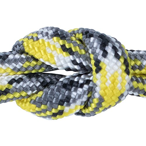 7 Strand Type III 550 lb. Break Strength Paracord / Parachute 550 Survival Cord - 50 Feet, Yellow Camo ()