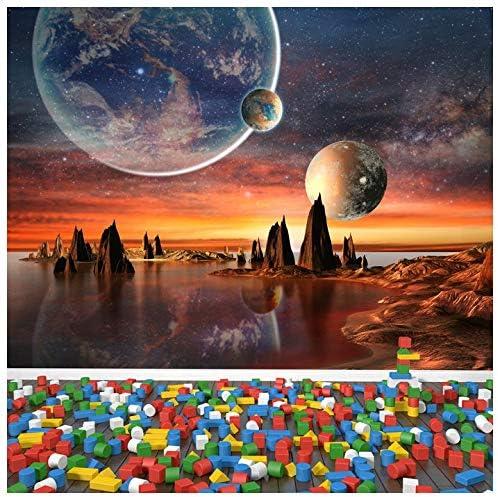 Amazoncom Azutura Alien Landscape Wall Mural Planets Space