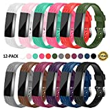 Gymu Fitbit Ace Bands for Kids,Fitbit Alta HR Bands,Fitbit Alta Bands, Diamond Replacement Wristbands with Secure Metal Buckle Clasp for Fitbit Alta Alta HR Ace