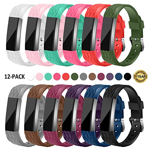 Gymu Fitbit Ace Bands for Kids,Fitbit Alta HR Bands,Fitbit Alta Bands, Diamond Replacement Wristbands with Secure Metal Buckle Clasp for Fitbit Alta Alta HR Ace Fitness Tracker by Gymu