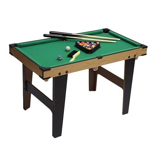 LCRACK Mesa De Billar Pool con 2 × Señales, 16 × Bolas De Billar ...