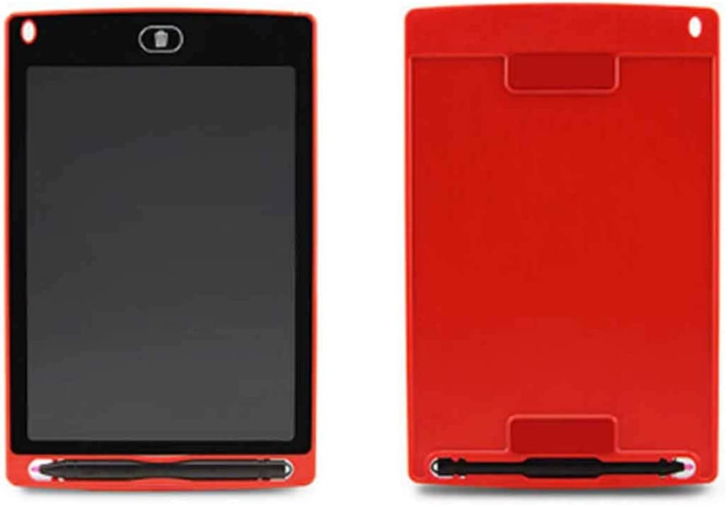 Digital Drawing Board Drawing for CHUYI 8.5 inch LCD Writing Tablet Electronic Graphic Board E Writer Paperless Digital Drawing Notepad for Home Office Writing Drawing Black Color : Red