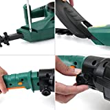 """DOEWORKS Corded 3 in 1 Pole Hedge Trimmer with Rotating Handle, 20"""" Dual Steel Blade"""