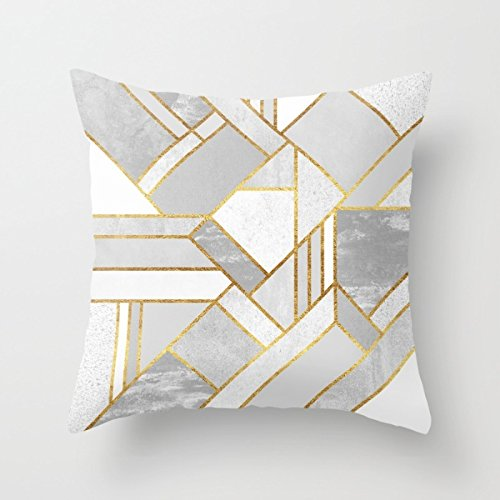 Loveloveu Geometry Throw Pillow Covers 20 X 20 Inches / 50 By 50 Cm Best Choice For Couch,bar,chair,husband,boy Friend,home Office With Double Sides