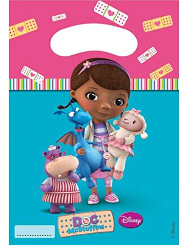 Disney Doc McStuffins Party Bags, Pack of