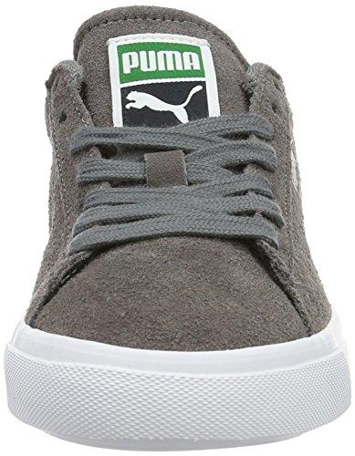 Puma White 04 Court Top Low Unisex Suede Grau Steel VULC Erwachsene Star Gray puma 6ra76q