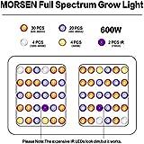 [New]MORSEN Grow Light, 600W led Grow