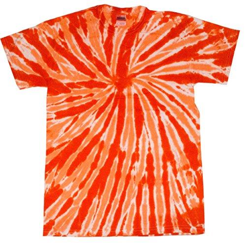Colortone Tie Dye T-Shirt LG Twist Orange for $<!--$11.95-->