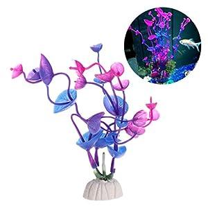 Shoresu Aquatic Plants Fish Tank Decoration Artificial Home Ornaments Aquarium Colorful 49