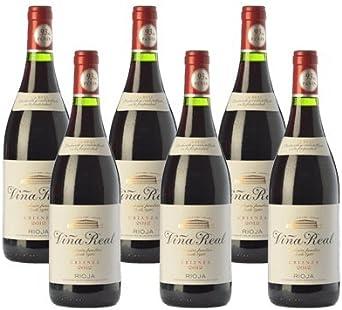 Viña real crianza - Vino Tinto - 6 Botellas: Amazon.es: Alimentación y bebidas