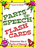 Parts of Speech: English Grammar Flash Cards for Beginning and Intermediate Readers, Age 8 and Up