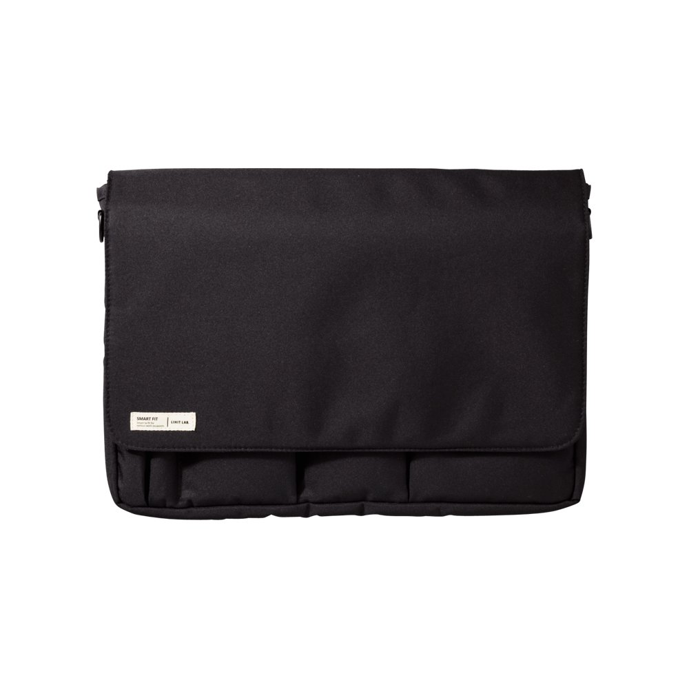 Lihit Lab Carrying Pouch, Black, 9.4 x 13.4 Inches (A7577-24)