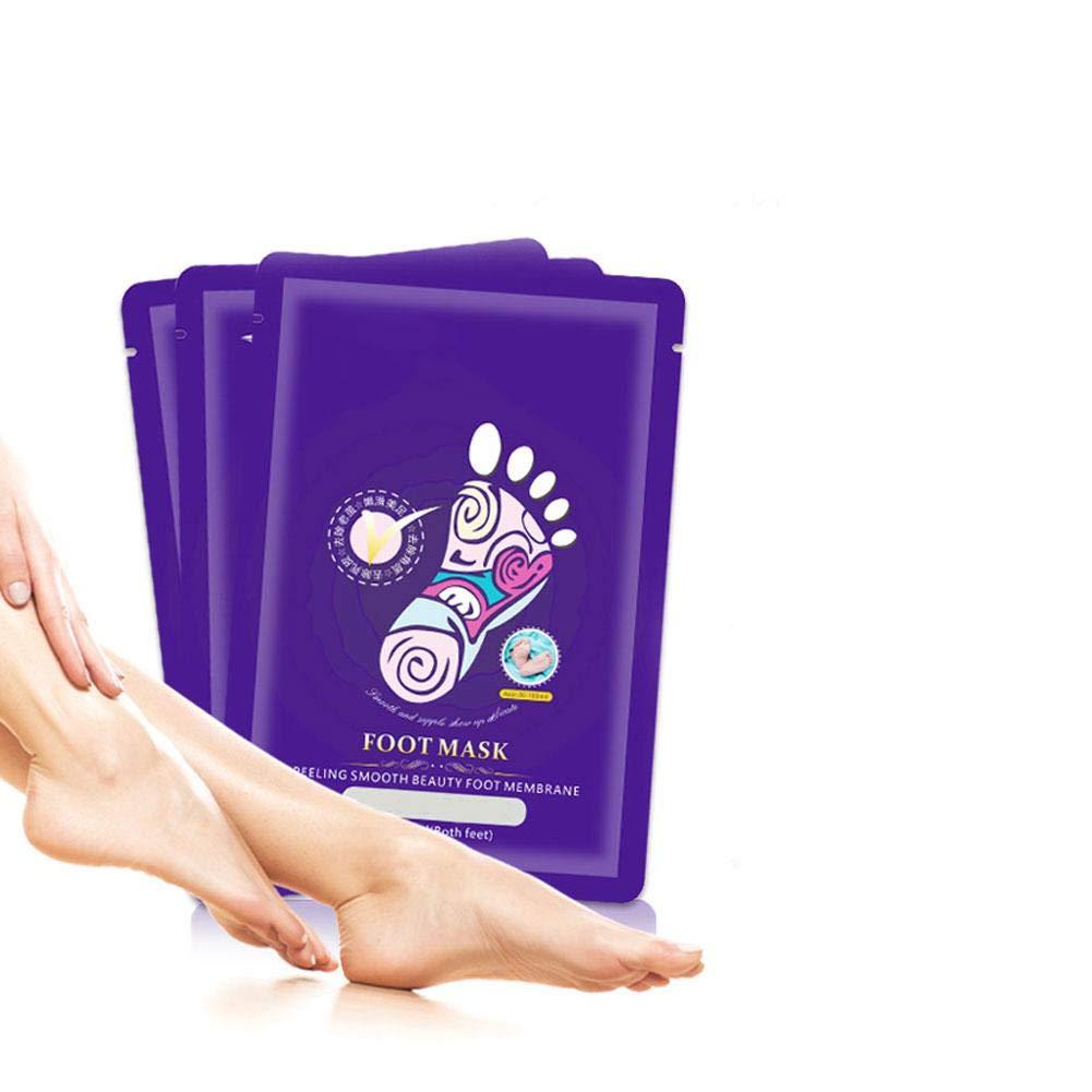Molie 10 Pairs Exfoliating Softening Foot Mask Moisturising Callus Remover Feet Peel Foot Booties Peel Ksruee