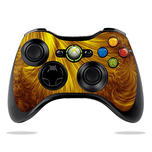 MightySkins Protective Vinyl Skin Decal for Microsoft Xbox 360 Controller Case wrap cover sticker skins Golden Locks