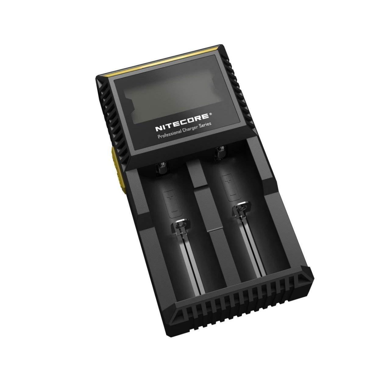 Powery Cargador Nitecore D2EU Digicharger D2 Li-Ion Versión ...