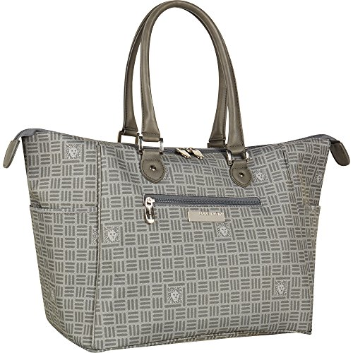 Anne Klein Perfect Travel Tote Bag, Grey Lion by Anne Klein