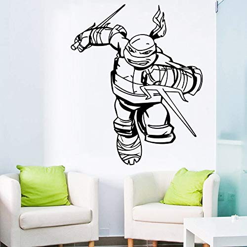 Wall Sticker Mural Art Decal Removable Vinyl Decal Art Mural Home Decor Ninja Turtles Wall Decal Boys Bedroom Superhero Wall Stickers Home Decor Kids Wall Decals Nursery