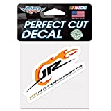 JR Motorsports Official NASCAR 4 inch x 4 inch Die Cut Car Decal by Wincraft