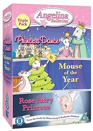 Angelina Ballerina Triple Pack Special Edition DVD: Amazon