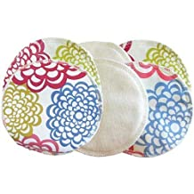 Itzy Ritzy Glitzy Gals Washable Nursing Pads Set, GG1008 (Fresh Bloom)