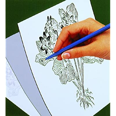 Melissa & Doug Scratch Art Trace-It White Transfer Paper (Great Gift for Girls and Boys - Best for 5, 6, 7, 8, 9 Year Olds and Up): Melissa & Doug: Toys & Games [5Bkhe0504141]