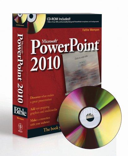 PowerPoint 2010 Bible (Bible 2010 Microsoft Powerpoint)