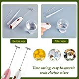 2 Pieces Epoxy Resin Stirrer for Crafts, Electric