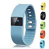 Activity Tracker - Gajozon Fitness Tracker Smart Watch Smart Band Wireless Bluetooth Sleep Monitor Wristband Running Pedometer Exercise for Android 4.3 IOS 7.0 (Gray)