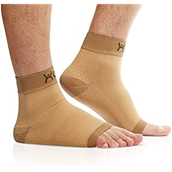 ca29798daa Plantar Fasciitis Compression Foot Sleeves - with Arch Support for Men &  Women - 20-
