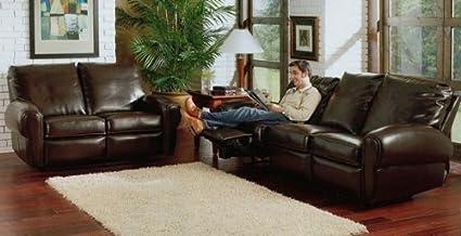 Remarkable Amazon Com 2Pc San Marino Chocolate Brown Loveseat Sofa Set Machost Co Dining Chair Design Ideas Machostcouk
