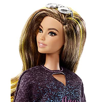 Barbie Fashionistas Rockstar Glam Doll: Toys & Games