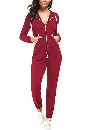Top-Vigor - Chándal - para Mujer Rojo Red#1 M: Amazon.es: Ropa y ...