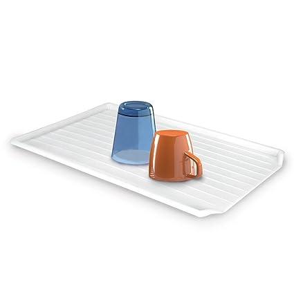 Metaltex - Bandeja Escurridora Plástico, 49 x 32 centímetros
