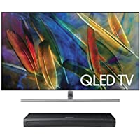 Samsung QN75Q7F 75 4K UHD HDR QLED Smart TV with UBD-M9500 4K Ultra HD Blu-ray Player
