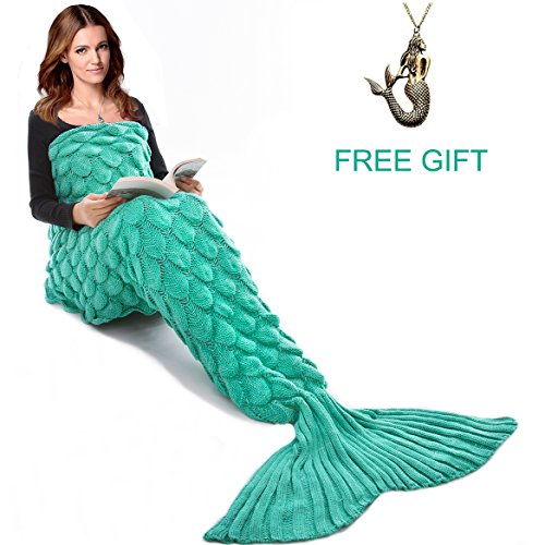 Mermaid Tail Blanket for Kids and Adults