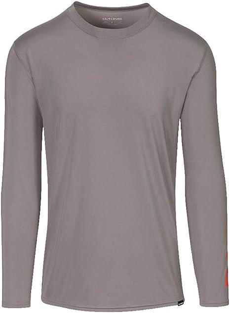 DAKINE - Camisa de Surf de Manga Larga Holgada para Hombre, de Surf, para Trabajo Pesado - Manga Corta - Camisa de Surf de Ajuste Holgado de 6.5 oz - Costuras Planas: