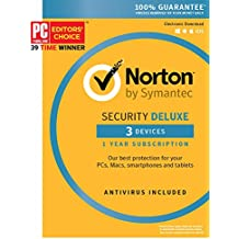 Norton Security Deluxe - 3 Device [Key Card]