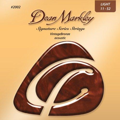 Dean Markley Signature Vintage Bronze Acoustic Strings, 11-5