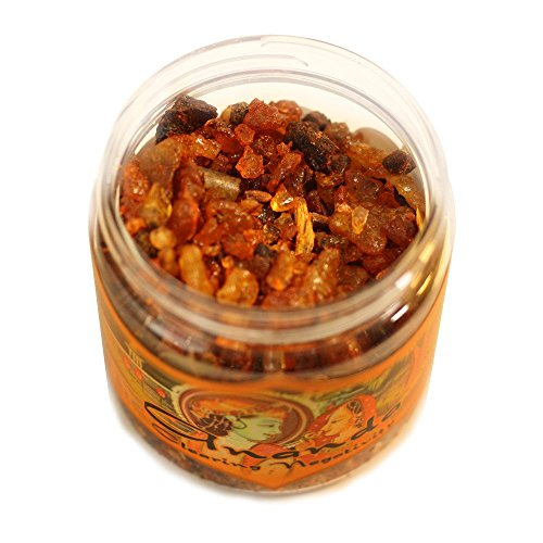 Ramakrishnananda, Incense Herbal Resin Ananda Clearing Negativity Jar, 2.4 Ounce