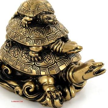 Statuette Tortue Symbole Feng Shui Protection Longevite