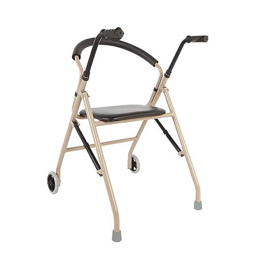 Walker ERERDIAN- Andador Plegable | Aluminio | Asiento Y ...