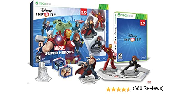 Infinity 2.0 Starter Pack-Marvel Super Heroes-Xb3: Amazon.es ...