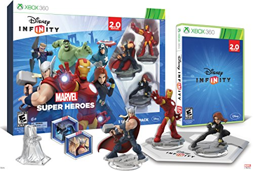 Disney INFINITY: Marvel Super Heroes (2.0 Edition) Video Game Starter Pack - Xbox 360 (2.0 Starter Box)