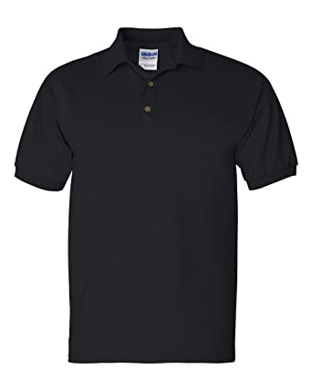 c3c713c5a Image Unavailable. Image not available for. Color: Gildan Men's Button-Down  Polo Shirt ...