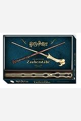 Harry Potter: Das Buch der Zauberstäbe (mit Zauberstab-Replika in Geschenkbox): Geschenkset inkl. Buch und Zauberstab Capa dura