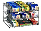 Organize It All Can Rack (1866W), Chrome