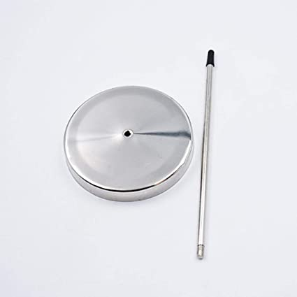 WSSROGY 2pcs Silver Desk Straight Rod Paper Holder Straight Rod Paper Memo Holder Spike Stick Receipts Check Bill Fork