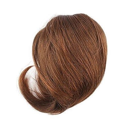 Yosoo Extension a coda di cavallo, con fermacapelli, capelli lisci